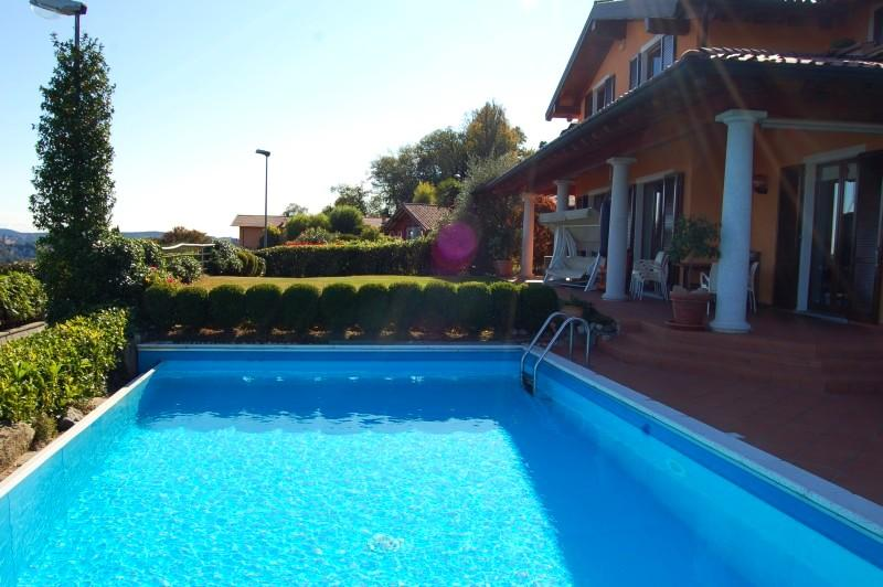 Meina villa rental with pool and view on Lake Maggiore - Panoramic villa with pool and great lake view! - Meina - rentals