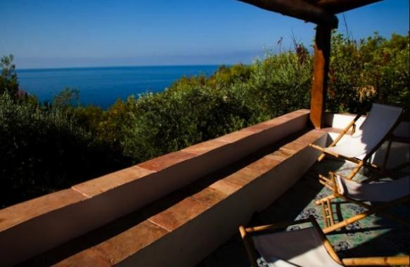 Terrace - Villa with private access to the sea for 9 people - Maratea - rentals