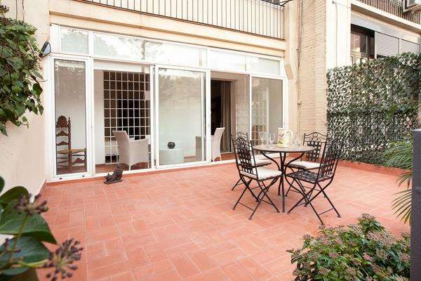 Eixample - The Private Garden Apartment - Image 1 - Barcelona - rentals