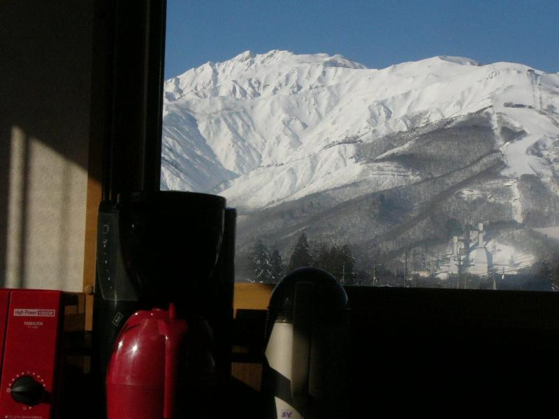 view from the kitchen and livingroom - Hakuba Ski Condo - Nagano - rentals