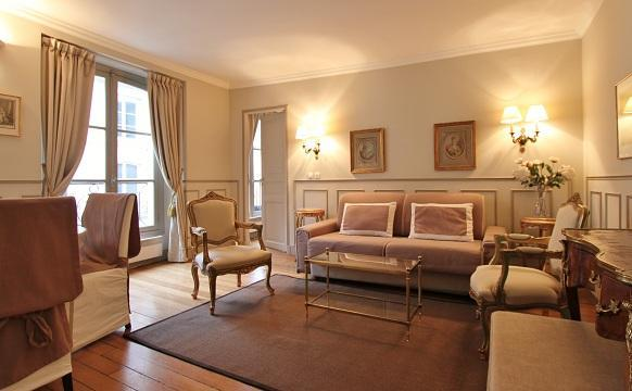 Chez Honoré: Elegant one bedroom 4P in the center of Paris - Image 1 - Paris - rentals