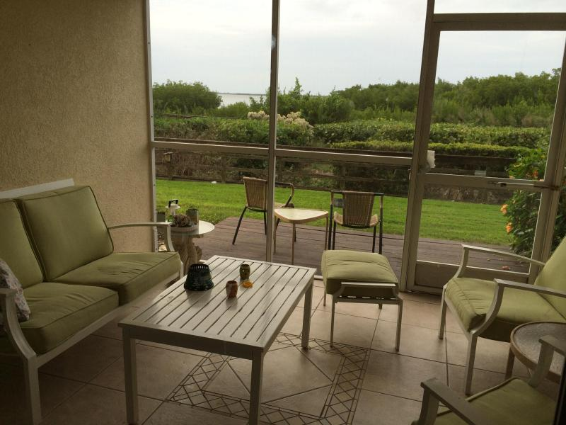 Bayview from the screened lania - Paradise on the Bay - Palmetto - rentals