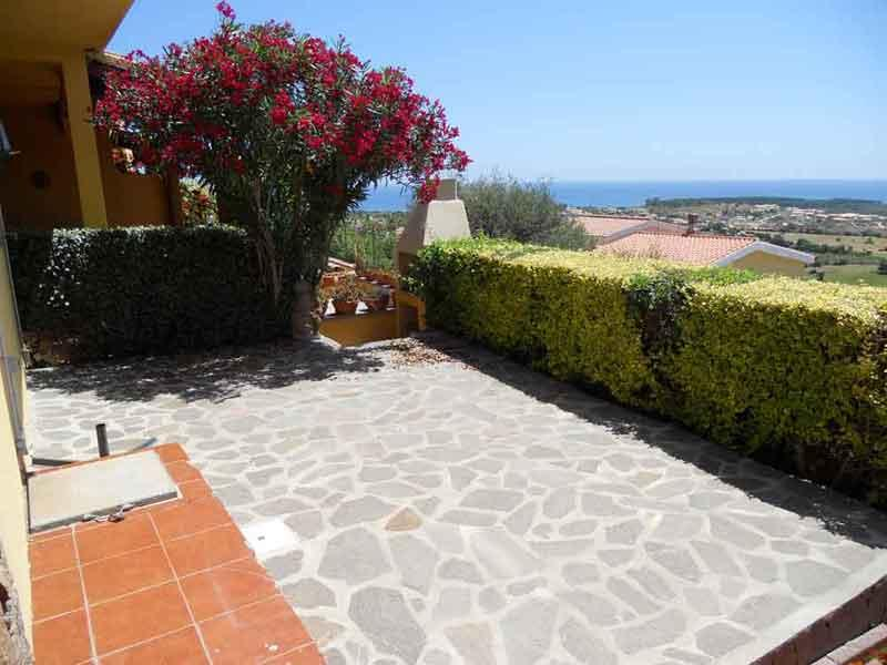 Terrace - Holiday apartment with beautiful sea in Sardinia - Budoni - rentals