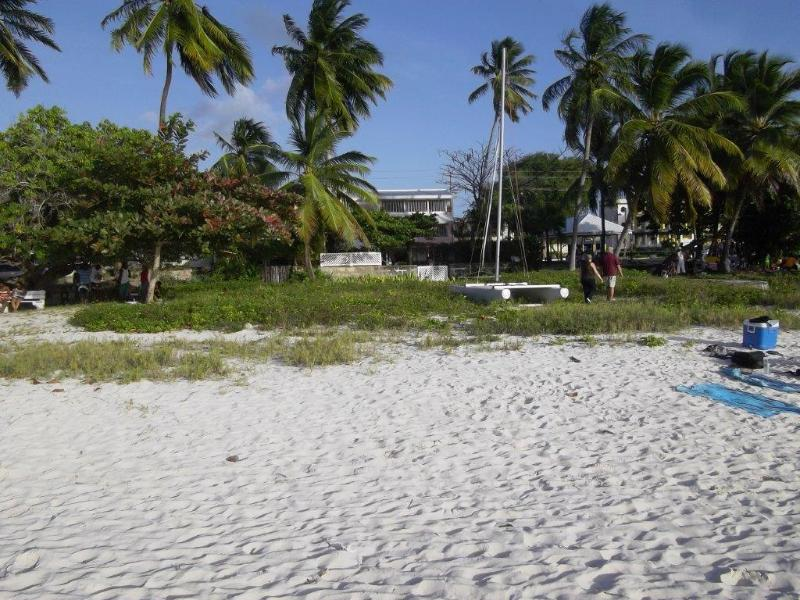 The view of The Brick House from the beach - The One and Only on the beach Brick House - Bridgetown - rentals