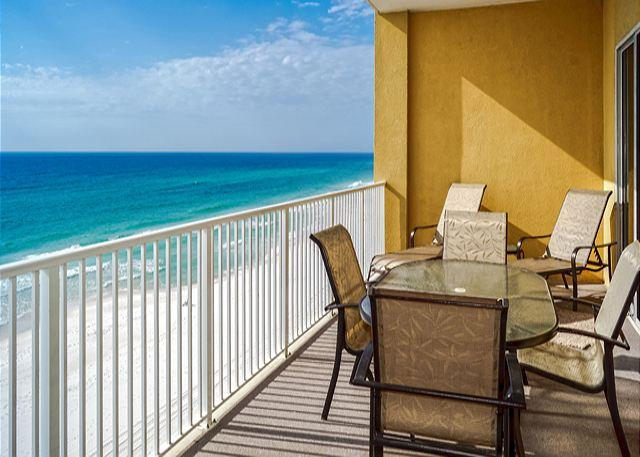 A GREAT SPOT FOR MORNING COFFEE - BEACHFRONT CONDO FOR 10! UPGRADES! OPEN 9/20-27! 10% OFF ALL OCT DATES! - Panama City Beach - rentals
