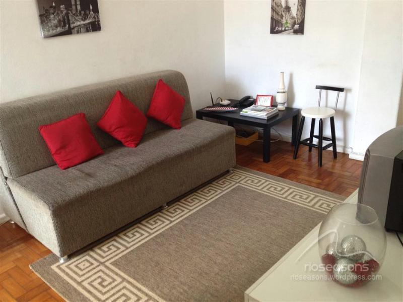 Sofa-bed in the living room. - 1 Bedroom Apt In Ipanema! - Rio de Janeiro - rentals