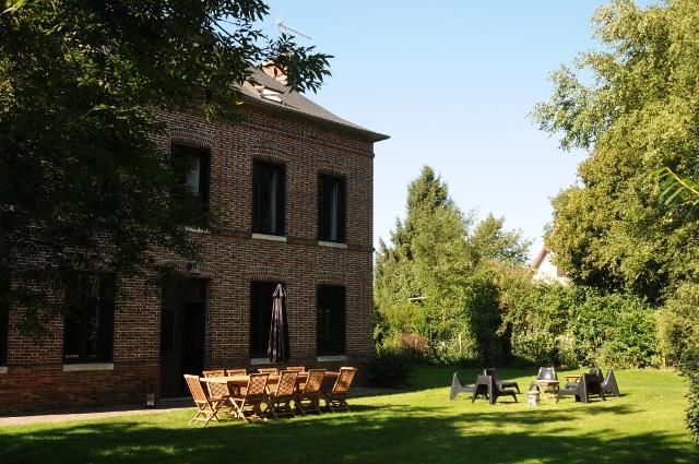 Nice garden - Superb Cottage with outdoor heated swimming pool - Le Neubourg - rentals