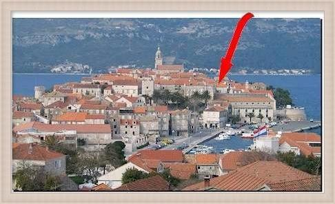 Location in Town - Korcula Studio Apartment Lisa - Korcula - rentals