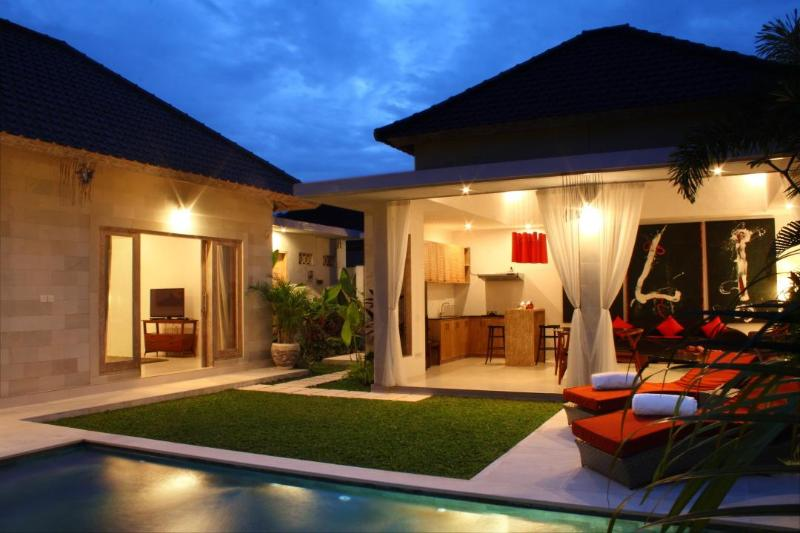 View of the villa - Briana Villa- walking Distance To the Beach Chic Villa-Seminyak-Bali - Badung - rentals