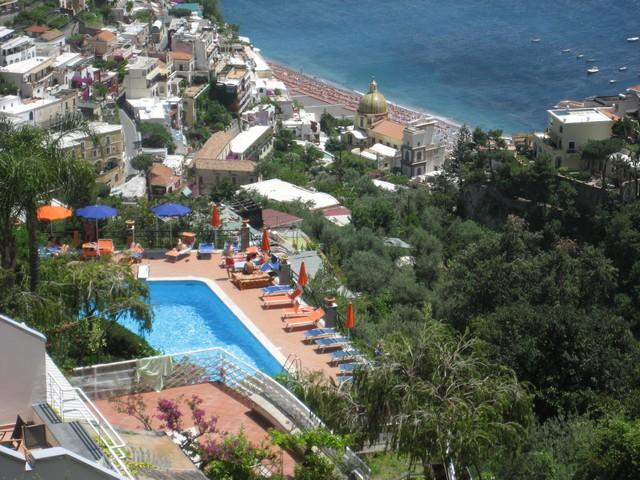 Amazing view apartment with pool - A606 - Image 1 - Positano - rentals