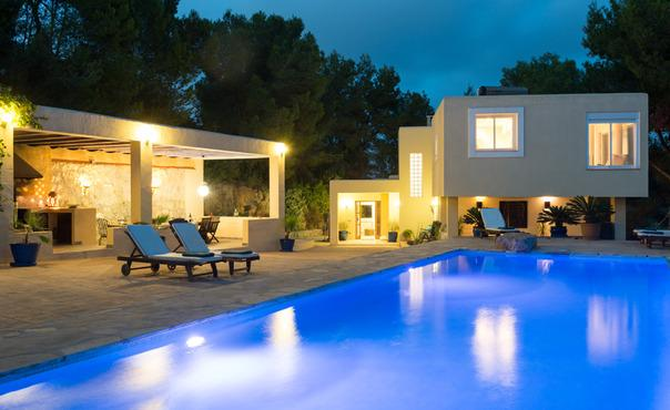 Holiday villa near Ibiza Town  with a wonderful view and pool - ES-1075667-Ibiza - Image 1 - San Lorenzo - rentals
