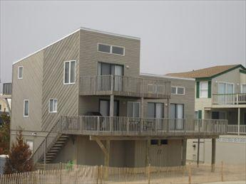 VIEW FROM BEACH - 765-Kauppila 45165 - Harvey Cedars - rentals