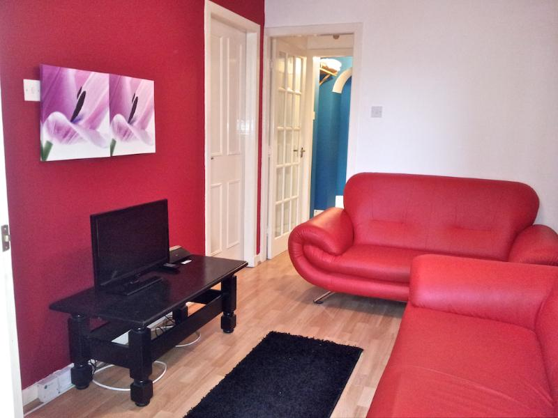Living room with flat screen T.V. - The Wee Haven, Edinburgh - Edinburgh - rentals