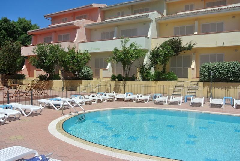 Fantastic one bedroom apartment with swimming pool and sea view - Image 1 - Nuxis - rentals
