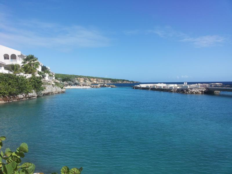 view from apartment - CURACAO OCEAN FRONT BEACH APARTMENT WITH PRIVATE DECK - Willemstad - rentals