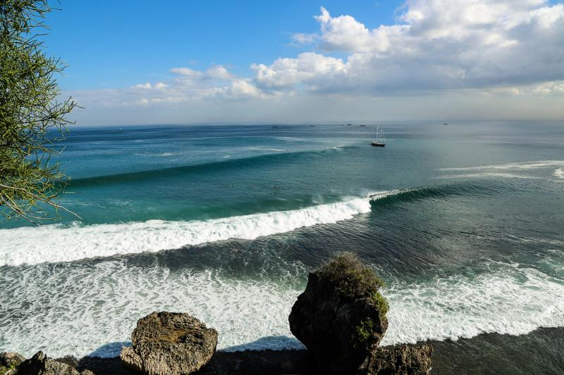 View from Cliff Path @ The Luxe Bali - Bukit Surf Beach Amazing Cliff Top Villa - The Luxe Bali - Pecatu - rentals