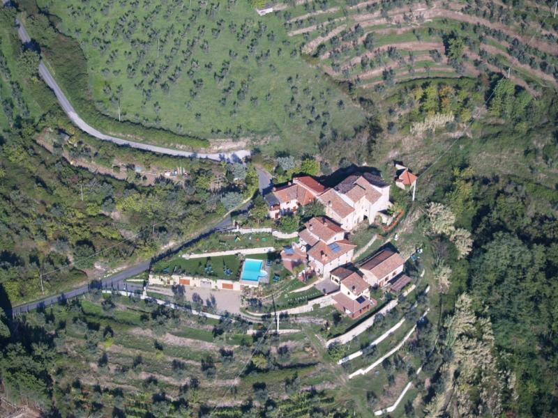 view from the sky - Podere Ager Mentis - Galatea - Pian di Sco - rentals