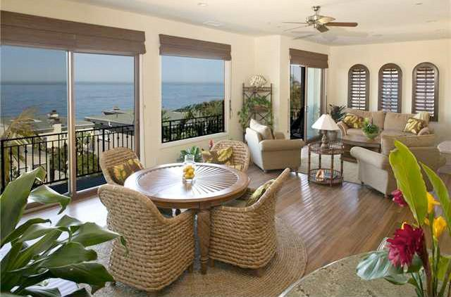 Panoramic views right from the kitchen and dining/living rooms. - Exquisite Home- Ocean Views/ Very close to beach! - Cardiff by the Sea - rentals