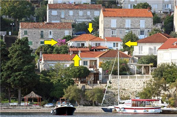 Renovated apartment for 3 persons near the beach in Korcula - Image 1 - Korcula - rentals