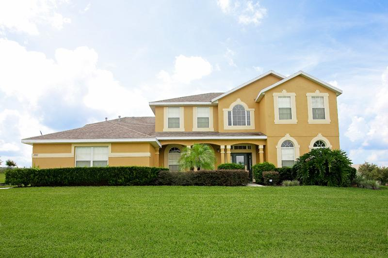 Front View  - 7 Bed Luxury Home on Formosa Gardens - Kissimmee - rentals