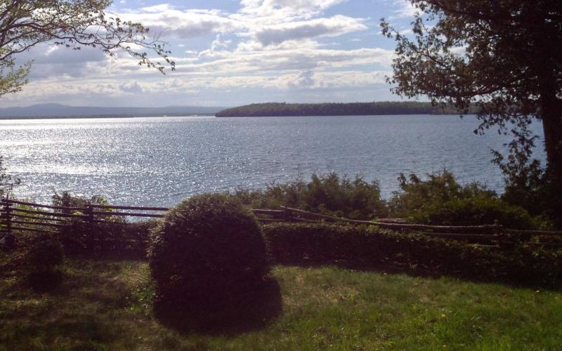 The View from the Deck - North Hero's Private & Peaceful Peninsula! - North Hero - rentals