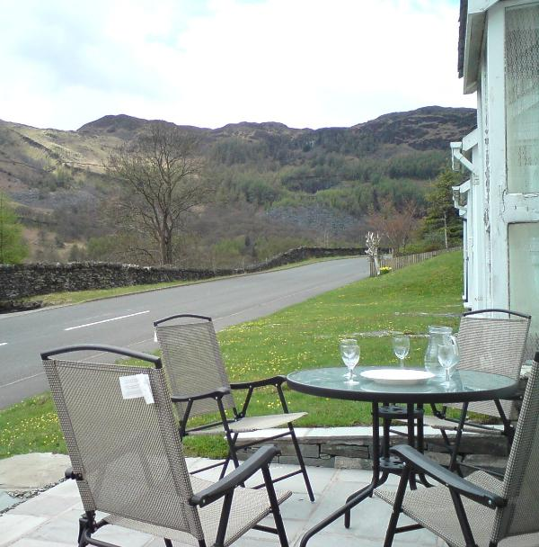 The view from our patio - Langdale View, comfortable  in spectacular setting - Chapel Stile - rentals