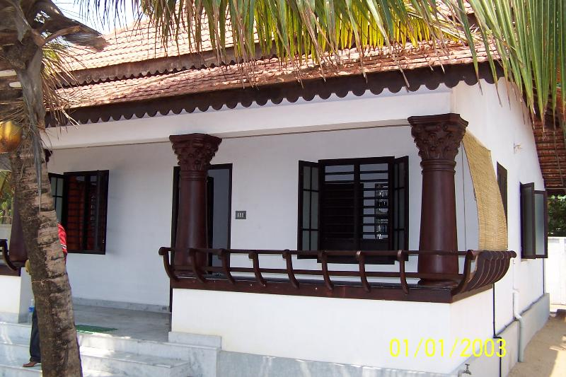 Front of House - Self Service Cottage with Cook & Caretaker (Beach) - Kochi - rentals