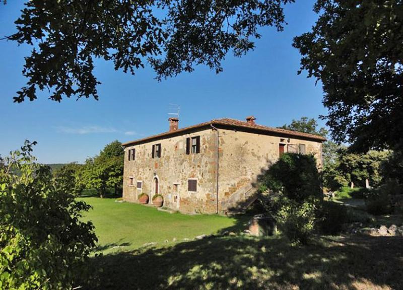 Over view of the villa - Villa Gaudio - Lucignano - rentals