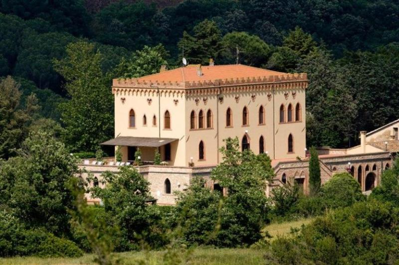 Whole view of Villa Ricrio - Villa Verdana - Guardistallo - rentals
