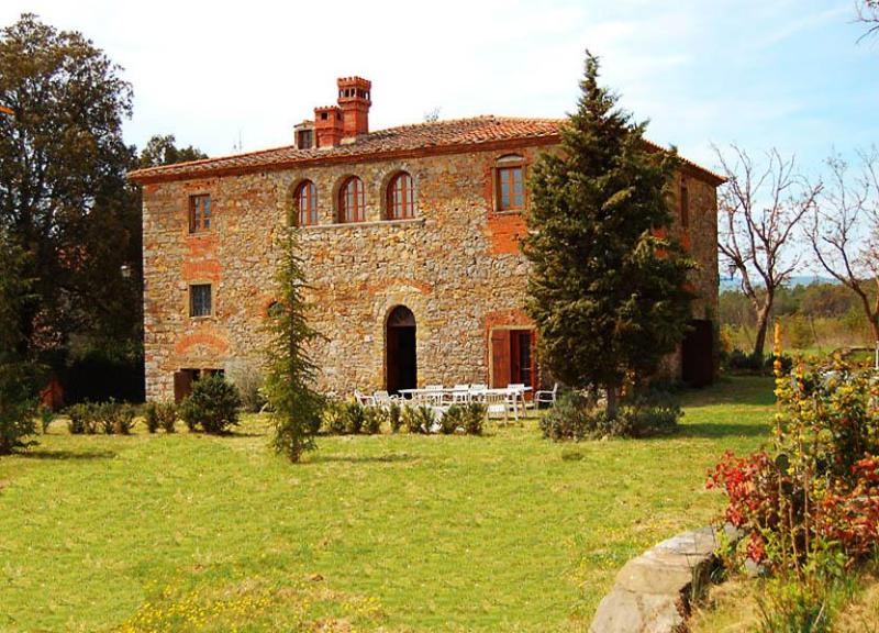 Over view of Villa CasaNova - Villa Claudina - Bucine - rentals