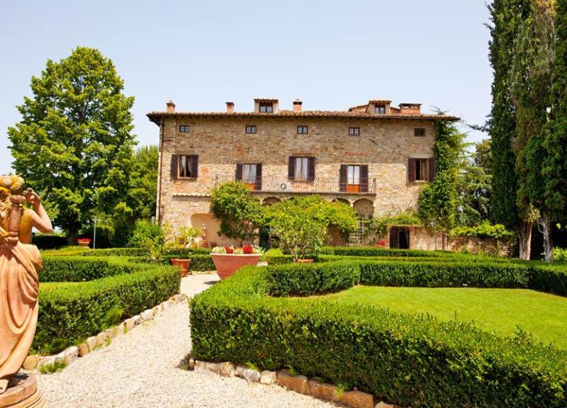 Main view of the villa - Villa Cammeo - Barberino Val d'Elsa - rentals