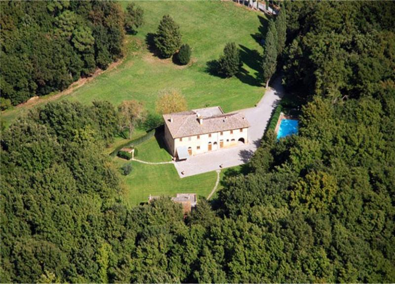 Top view of  villa Grillaia - Villa Remo - Ponsacco - rentals