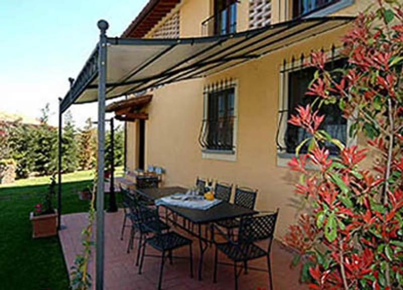 View of the outdoor dinning area - Villa Primo - Castelfiorentino - rentals