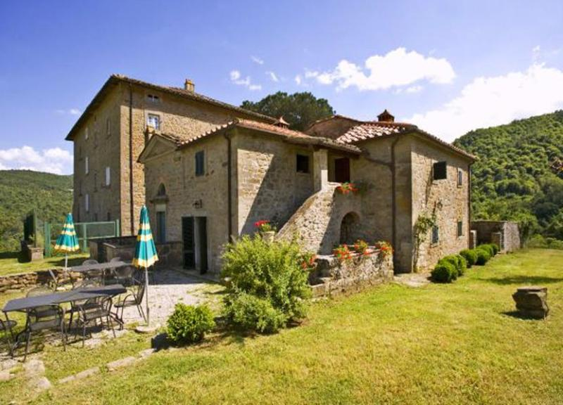 Main view of the villa - Villa Laude - Cortona - rentals