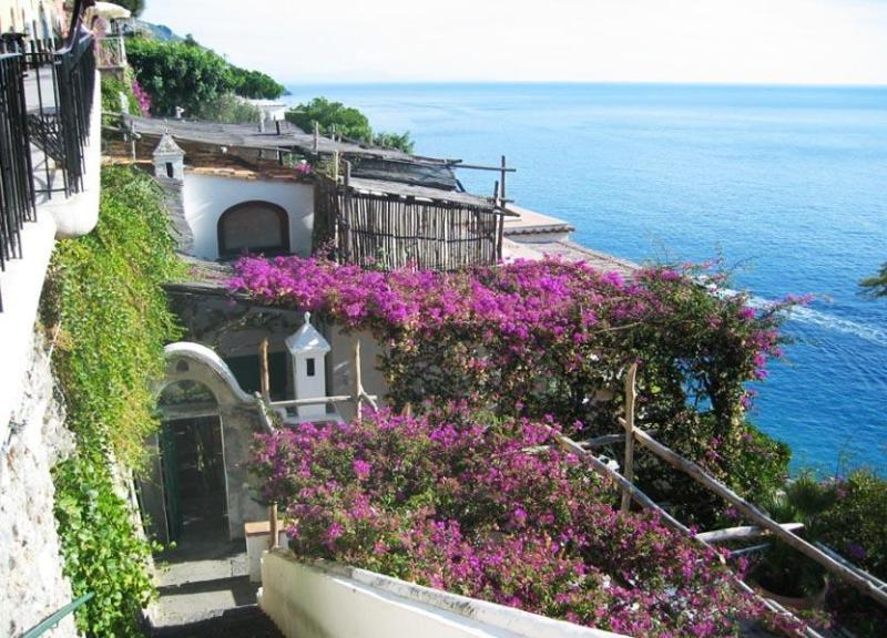 Mountain view of the villa - Villa Dalia - Positano - rentals
