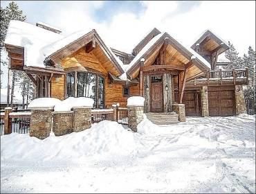Exterior - Completed December 2013 - Large Hot Tub & Fire Pit (13543) - Breckenridge - rentals