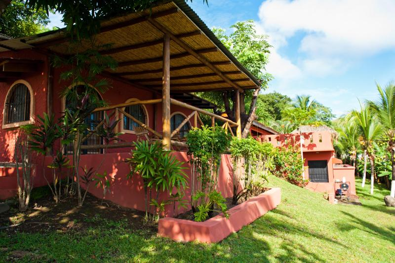 Front of Casita and Garden - Tranquil and Private Guest House - Playa Conchal - rentals