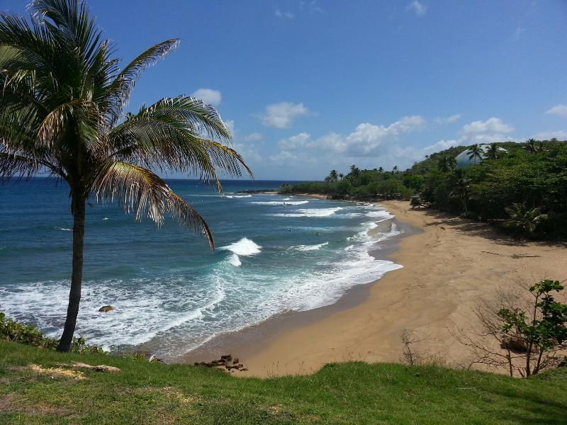 View from The Rincon Lighthouse and Domes Beach - Luxury 7 Bedroom Oceanview Villa - Rincon - rentals