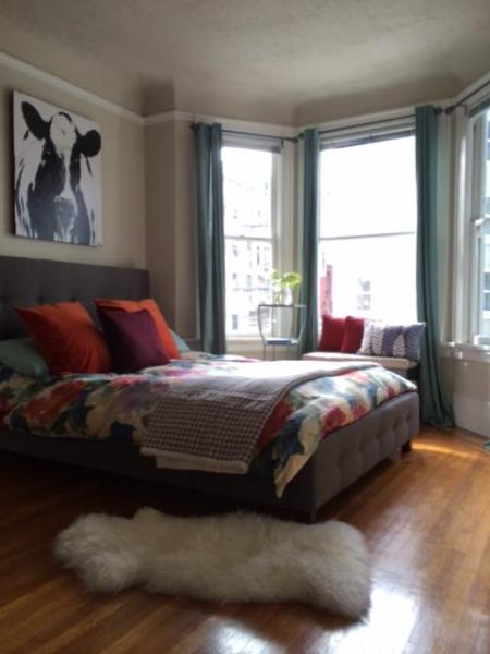 Bedroom1 - Bright and Colorful Studio in Prime Location - San Francisco - rentals