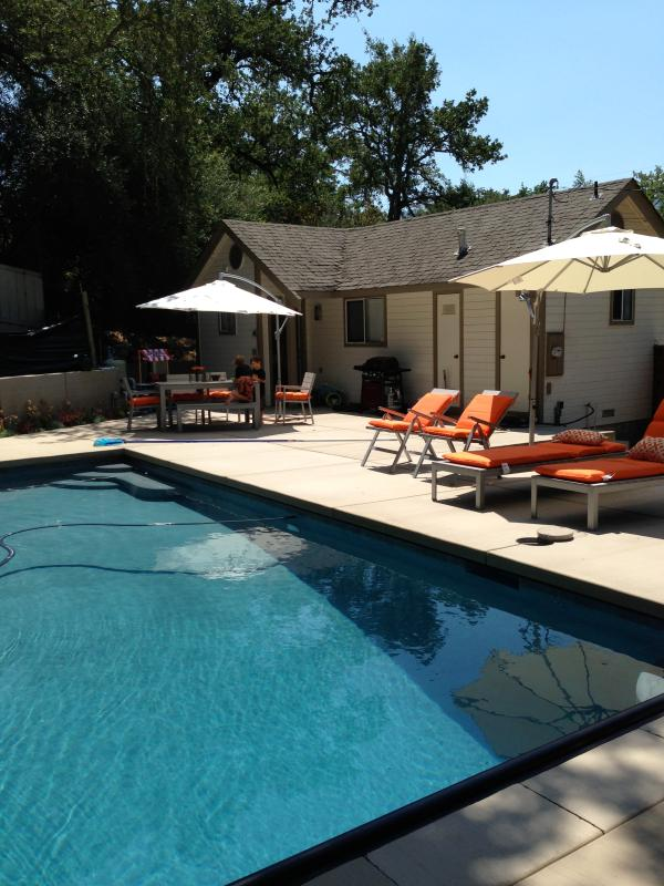Wine country retreat with private pool - New: Lovely Sonoma Wine Country Cottage with Pool - Glen Ellen - rentals
