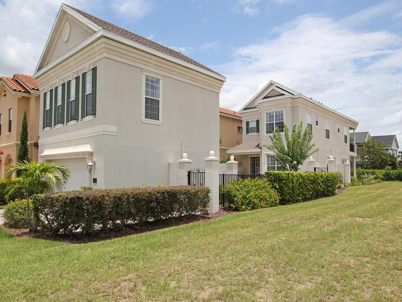 Front view  - Luxury 5 bed home on Reunion Resort - Kissimmee - rentals