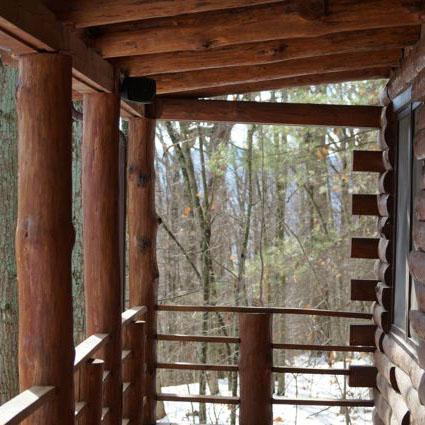 Luxury Log Cabin, Mountain Views, Ski Resort, JMU - Image 1 - Massanutten - rentals