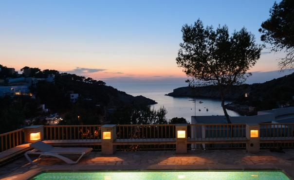 Beautiful house with stunning sea views,   private pool, a few steps from the beach. - ES-1077198-Sant Josep de sa Talaia - Image 1 - Sant Josep De Sa Talaia - rentals