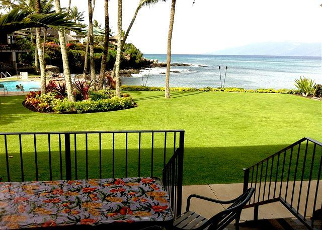 Romantic! Oceanfront Honokeana Cove, Great Snorkeling, Heated Pool - Image 1 - Lahaina - rentals