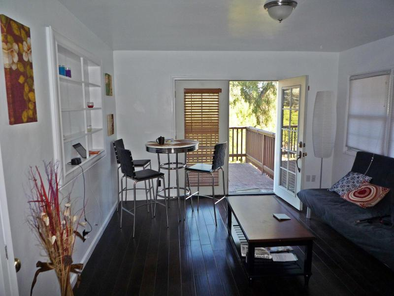 Living room with deck access - Private Half of  home by Beach! Close to All!! - San Diego - rentals
