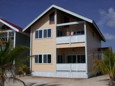 Reef & Palm Villas exterior - Holiday Villa-House, Roatan Bay Islands, Honduras - Roatan - rentals