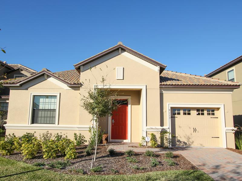 Front view  - Luxury single storey villa on Champions Gate! - Kissimmee - rentals