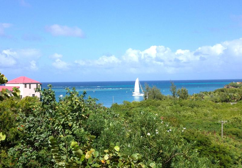 Imagine waking up to this incredible view of the Caribbean - Luxury 2 Bedroom Condo with Lovely Caribbean View - Christiansted - rentals