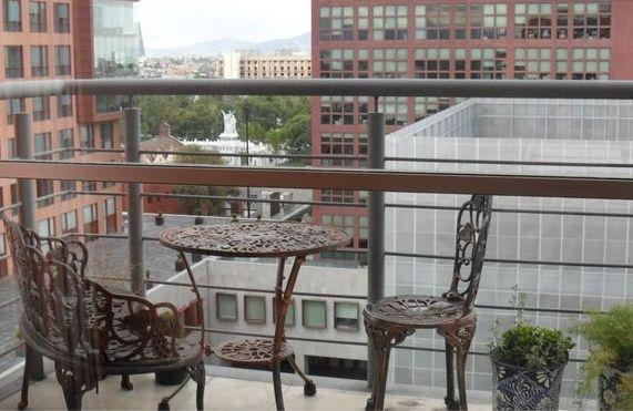View from the private balcony - Condo in the  Heart of the City - Private Balcony - Mexico City - rentals