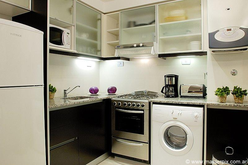 Kitchen  - PALERMO UNO STUDIO - (AD5) - BREATHTAKING CITY VIEWS FROM 22nd FLOOR - Buenos Aires - rentals